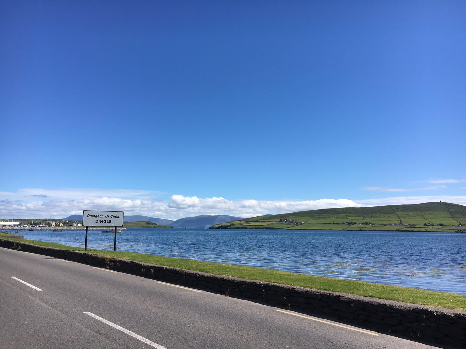 Returning to Dingle from the West
